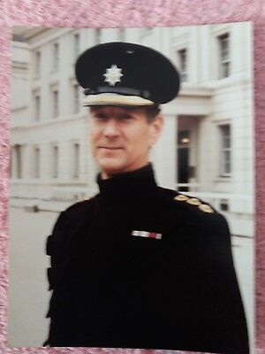Signed Photo of Major Roger Swift Director of Music Coldstream Guards Band