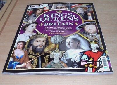 History Revealed magazine Collector's Editions Kings & Queens of Britain 2017
