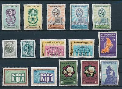 LH24296 Syria nice lot of good stamps MNH