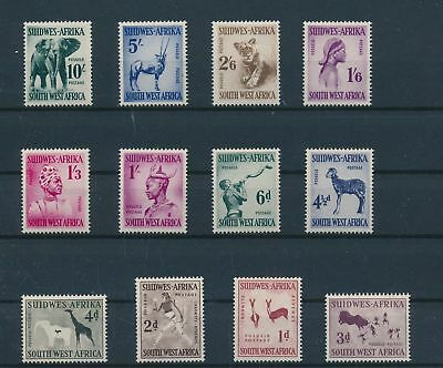 LH24330 South West Africa definitives fine lot MNH