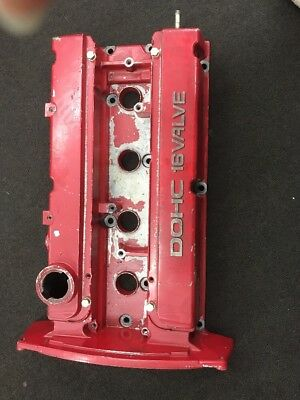 Mitsubishi Evo 6 Rocker Cover In Red