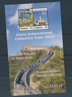 LH24397 Samoa China international expo 2013 good sheet MNH