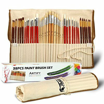 NEU/B-Ware: Artify 38 teiliges Pinsel Kunst Set