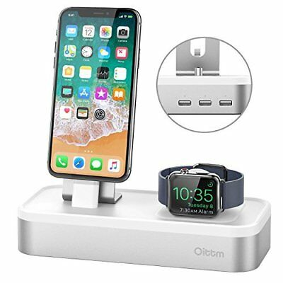 Apple Watch Stand iWatch/iPhone X/iPad/iPod Charging Dock 5-Port USB Charger New