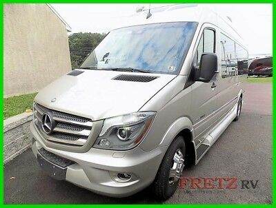 2015 Roadtrek E-Trek Mercedes Diesel Sprinter Low Miles Warranty Transfers Van