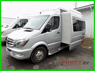 2015 Leisure Travel Free Spirit SS Rare w/Slide Mercedes Diesel Sprinter RV Van