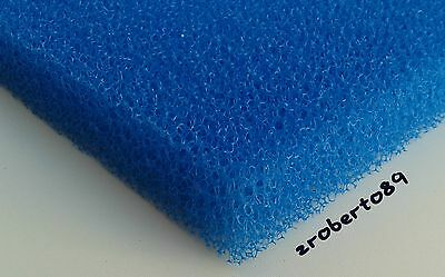 1 x DIY Course 15 PPI Foam Media Sheet for Pond and Aquarium Filters 12''x9''