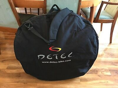 Detec Bicycle Double Wheel Bag