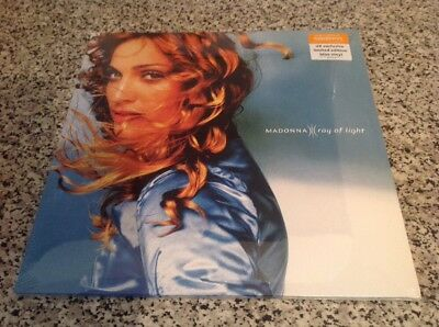 Madonna Sainsbury's Ray Of Light Blue Vinyl Sealed Double LP UK Only