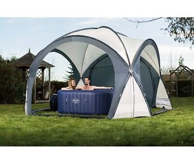 Lay-Z-Spa Hot Tub & Pool Dome Enclosure Gazebo Garden Shelter Cover Tent NEW