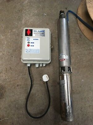 Lowara 2G211 Submersible Pump and Control Panel