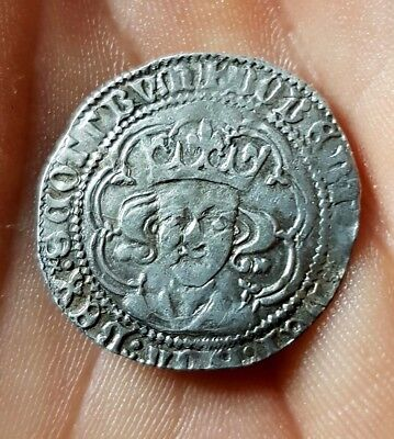 1390-1406 Scotland Robert III Silver Hammered  Groat coins PERTH