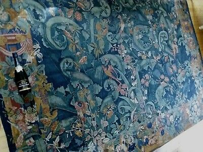 """Tapestry, Very Large French Aubusson Style Wall Hanging (270x205cm) 8'10""""×6'9"""""""