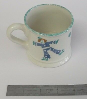 Laura Ashley tumbling clown design childrens mug
