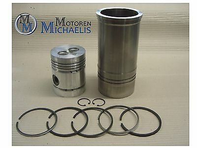 MWM KD 412 CYLINDER WITH PISTON - Fendt Favorit 1, Favorite 2, Fix 1, Walsh W14