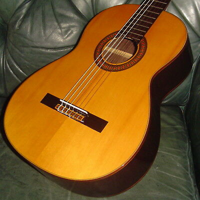 80er Fender FC-120 Konzertgitarre Classical Guitar Klassische / Japan Quality