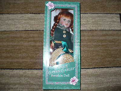 "Anne of Green Gables 12"" Porcelain Doll NIB"