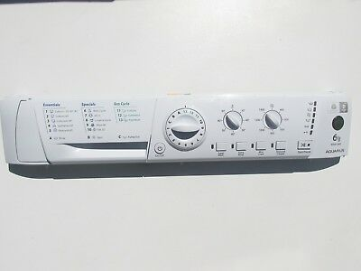 Hotpoint Wml540 Fascia And User Interface Pcb