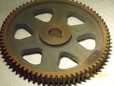 Boston Gear Nd72-Used Spur 6 1/8 Od  3/4' Id 3/4 Wide 12 Pitch
