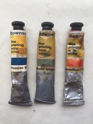 Lino Printing Water Colour 3 Tubes