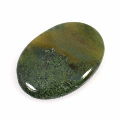 61.55Cts BEAUTIFUL NATURAL BLOOD STONE OVAL CABOCHON LOOSE GEMSTONES 44-03