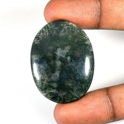58.40Cts BEAUTIFUL STONE BLOOD OVAL CABOCHON LOOSE GEMNSTONES 50-04