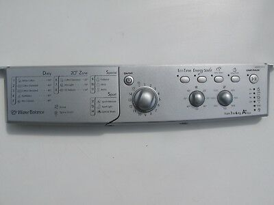 Indesit Iwsc61251S Fascia And User Interface Pcb