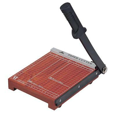 STACK PAPER CUTTER for Cutting Papers Cards Photos Foil and Others Brown