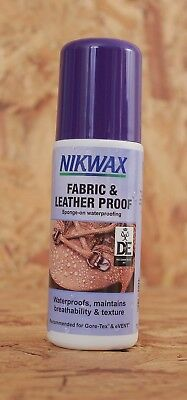 Nikwax Footwear Fabric and Leather Proof 125ml Waterproof Shoes Trainers