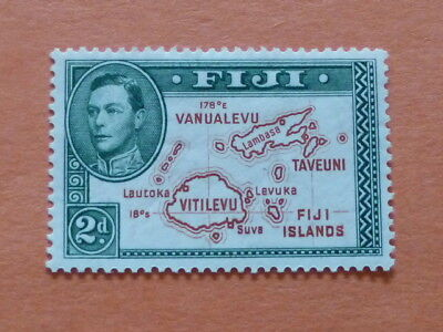 Fiji 1938  SG253  2d Brown & Green (Die I)  Lightly Mounted Mint