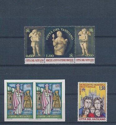LH25030 Vatican nice lot of good stamps MNH