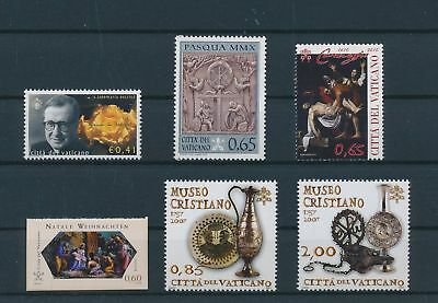 LH25032 Vatican nice lot of good stamps MNH