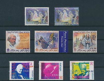 LH25044 Vatican nice lot of good stamps MNH