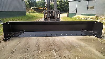 Linville 16ft Steel and Rubber Blade Snow Pusher