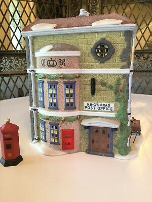 Dickens Village Series Kings Road Post Office Dept 56 58017 Great Christmas Gift