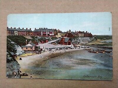 Newcastle, Whitley Bay BOATS AT CULLERCOATS BAY Old Postcard