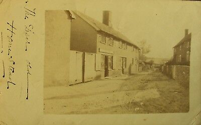The Drapers Shop Hacheston Near Woodbridge Suffolk 1905 Rp Pc