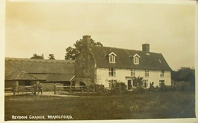Reydon Grange Wangford Suffolk 1920 Rp Pc