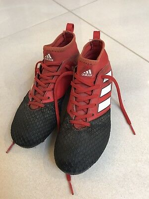 Adidas Ace 17.3 Firm Ground Footy Boots Size 3.5