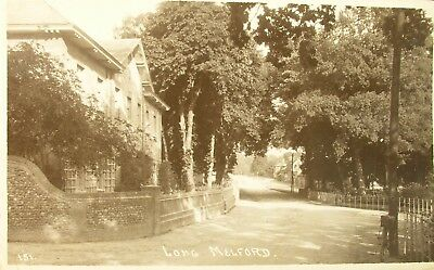 Leafy Long Melford Suffolk 1912 Rp Pc