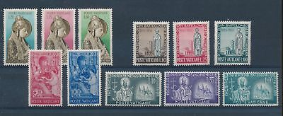 LH25059 Vatican nice lot of good stamps MNH