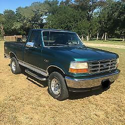 1996 Ford Other Pickups  1996 F-150, 4X4, Short Bed, Manual Transmission, Very Clean, Texas Truck