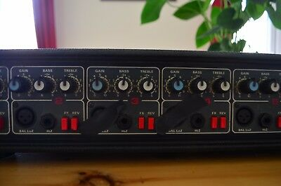 HH electronic MXA150 mixer amplifier