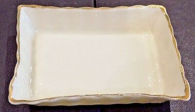 A Small Antique China Trinket Tray by Carolina China, Proctor & Sons & Ratcliff
