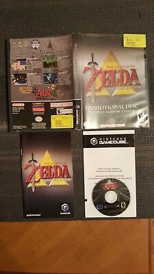 ***zelda Legend Of, Collector's Edition Nintendo Gamecube Complete***