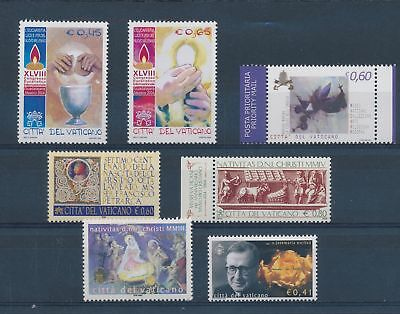LH25141 Vatican nice lot of good stamps MNH