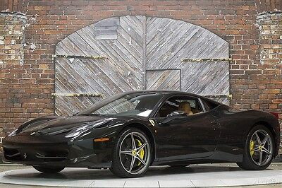 2014 Ferrari 458 Italia 14 Carbon Fiber Cuoio Tan Full Electric Daytona Seats Alcantara 20 Inch Forged