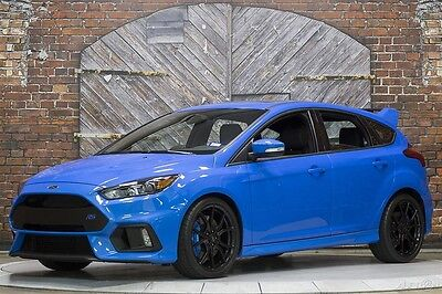 2016 Ford Focus RS Nitrous Blue 1k miles Clear Bra Loaded 16 350hp 19 Inch Forged Wheels Moonroof Nav RS2 Pkg Unmodified Not Raced 1 Owner
