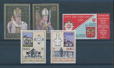 LH25165 Vatican nice lot of good stamps MNH