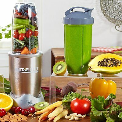 Nutribullet Pro Deluxe Edition 900W 13 Piece Set Blender